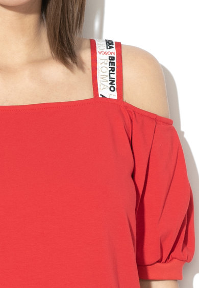 Liu Jo Kivágott vállú egyenes fazonú ruha női