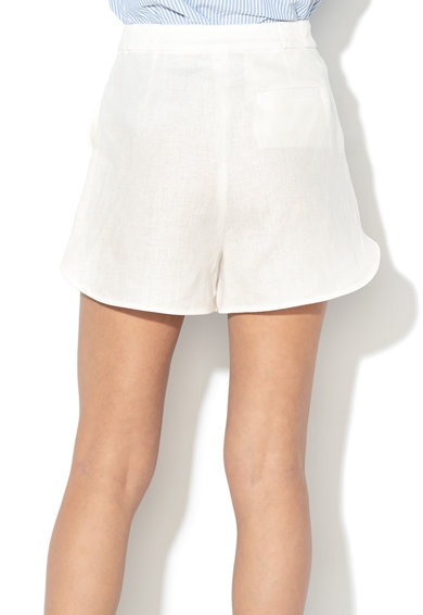 Max&Co Pantaloni scurti de in, cu un cordon in talie Centrino Femei
