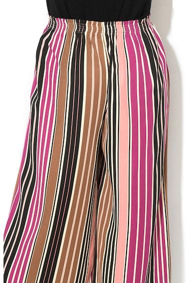 Max&Co Pantaloni culotte cu model in dungi Cesello Femei