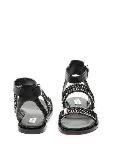 Max&Co Sandale de piele cu detalii din lant Amarena Femei