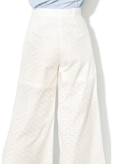 Max&Co Pantaloni cu perforatii si croiala ampla Diossido Femei