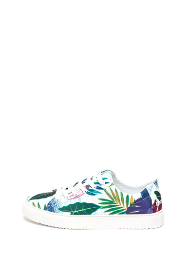 DESIGUAL Trópusi mintás cipő női