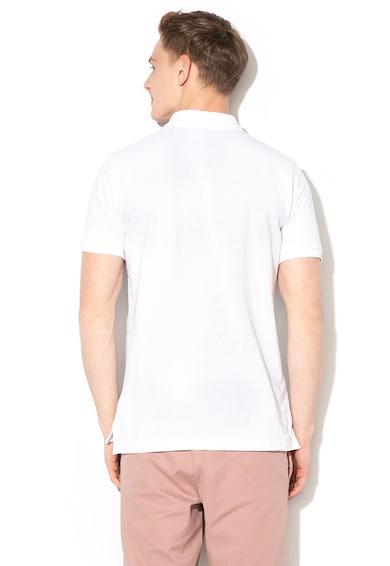 GAP Раирана тениска от пике с яка Мъже
