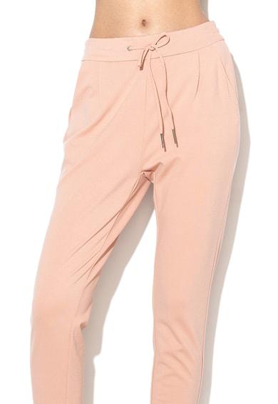 Vero Moda Pantaloni conici cu snur pentru ajustare Eva Femei