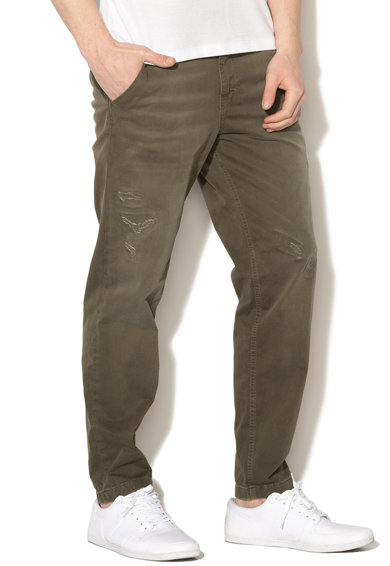 Selected Homme Панталон чино Nico с леко захабен ефект Мъже