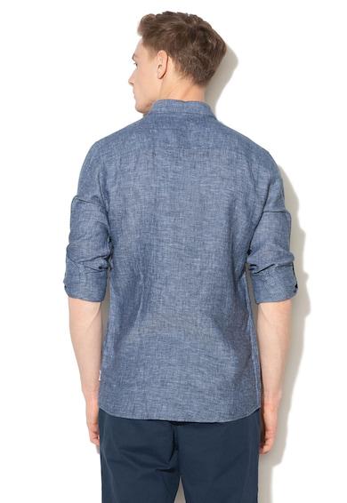 Only & Sons Раирана риза с лен Мъже