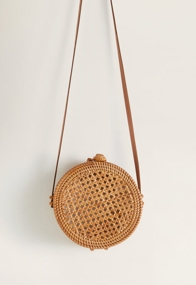 Mango Овална чанта Pitpit Жени