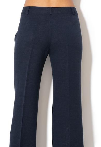 Sisley Pantaloni din amestec de in, cu croiala ampla Femei