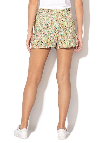 United Colors of Benetton Pantaloni scurti cu cordon si model floral Femei