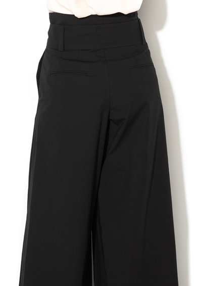 Marella Pantaloni cu croiala ampla si talie inalta Infisso Femei