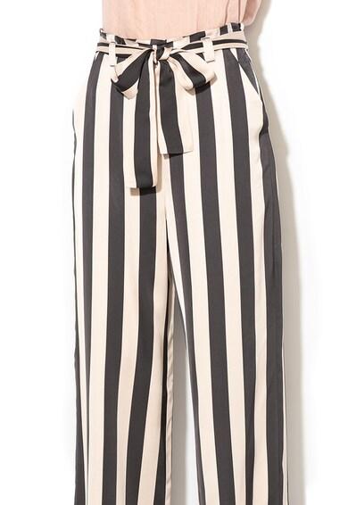 Marella Pantaloni din satin cu talie inalta si croiala ampla Diluvio Femei