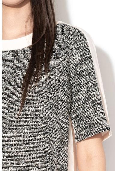 Marella Bluza cu maneci scurte si aspect tricotat Ketty Femei
