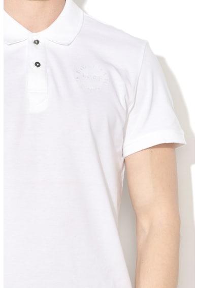 BLEND Tricou polo slim fit cu logo brodat Barbati