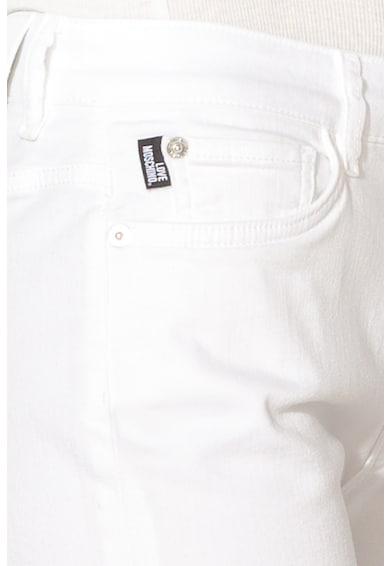Love Moschino Къс панталон от деним с джобове Жени