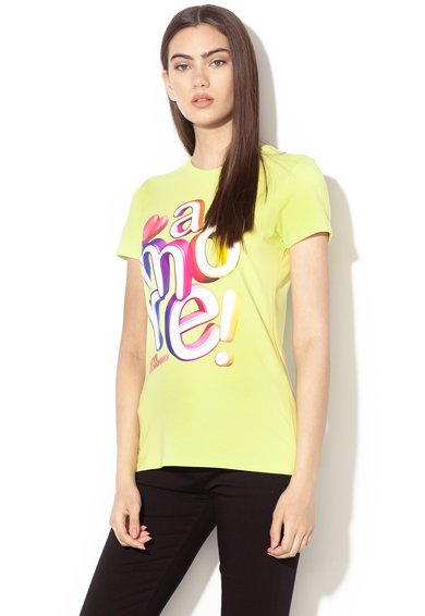 Love Moschino Feliratos póló női