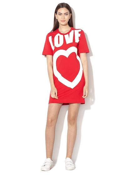 Love Moschino Rochie cu imprimeu logo Femei