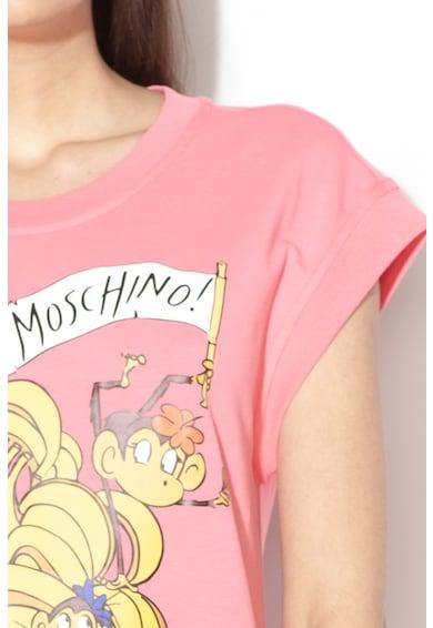 Love Moschino Rochie cu imprimeu grafic Femei
