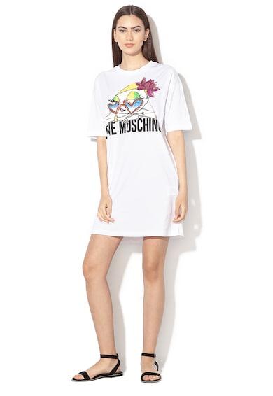Love Moschino Rochie mini cu imprimeu grafic Femei