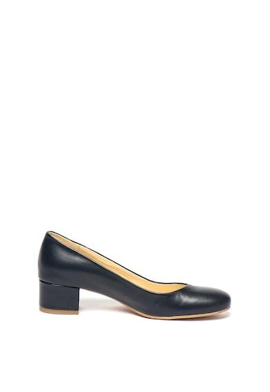 Zee Lane Pantofi de piele cu toc masiv Zara Femei