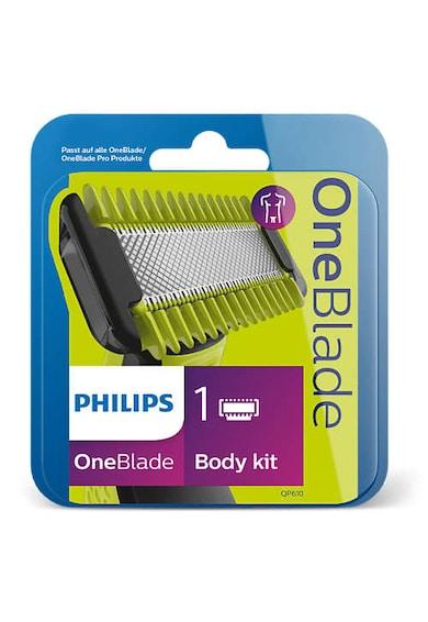 Philips Rezerva OneBlade /50 , 1 lama si 1 pieptene, compatibil cu gama OneBlade Barbati