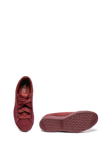 Puma Велурени спортни обувки Vikky Ribbon Do Жени