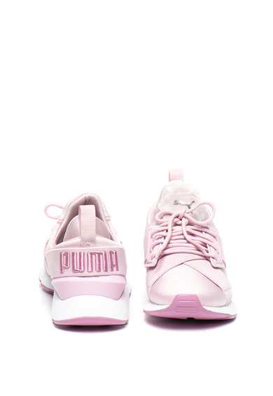 Puma Pantofi sport slip-on Muse Satin II Femei