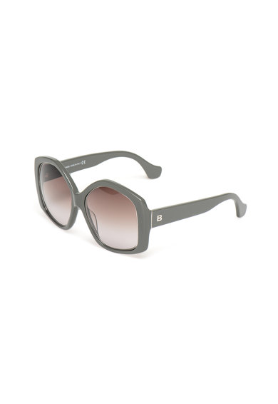Balenciaga Ochelari de soare patrati cu lentile in degrade Femei