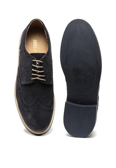 Zee Lane Pantofi brogue de piele intoarsa Barbati