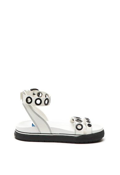 Diesel Sandale de piele, cu brant ergonomic Grand Femei