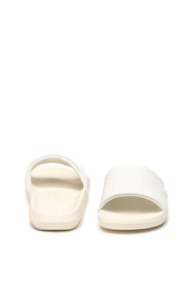 Lacoste Bőrpapucs logós részlettel női