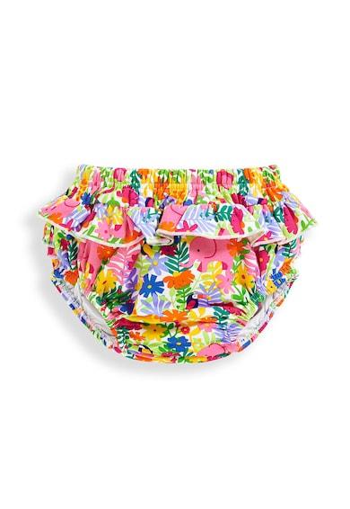 JoJo Maman Bebe Долна част на бански с шарки и набирания Момичета