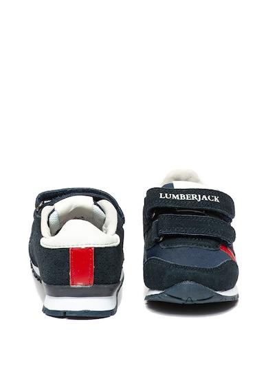 Lumberjack Yuppi nyersbőr és textil sneaker Fiú