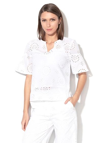 Pennyblack Bluza de dantela Sangallo cu maneci clopot Elfo Femei