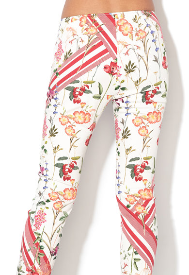 Pennyblack Pantaloni crop conici cu imprimeu Femei