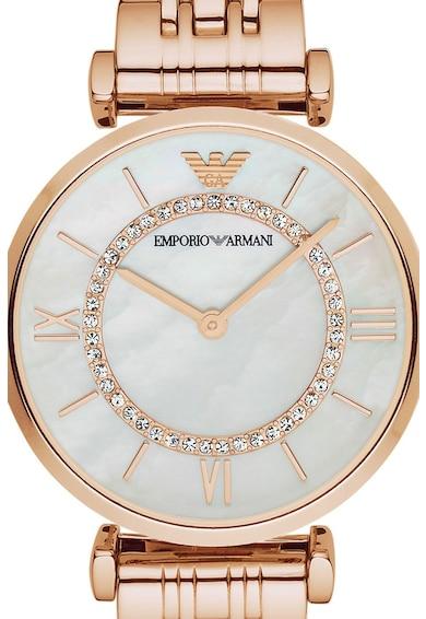 Emporio Armani Часовник от неръждаема стомана Жени