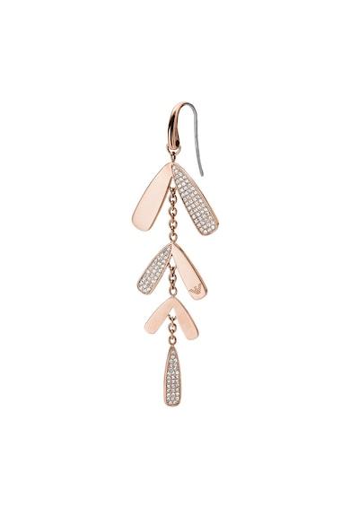Emporio Armani Cercei decorati cu cristale Chandelier Femei