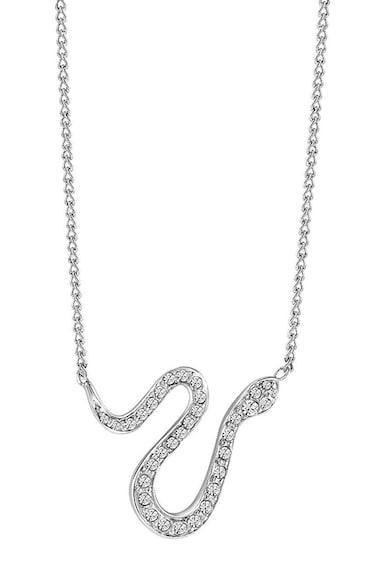 Guess Ródiummal bevont nyaklánc kígyó alakú medállal női