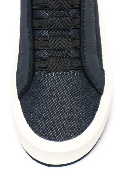 G-Star Raw Pantofi sport slip-on flatform din denim Strett Femei