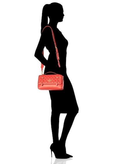Love Moschino Geanta de piele ecologica, cu bareta de umar si aspect matlasat Femei