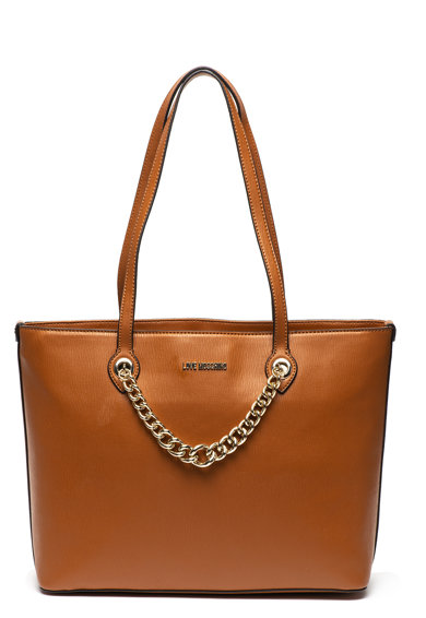 Love Moschino Műbőr táska láncos fogantyúval női