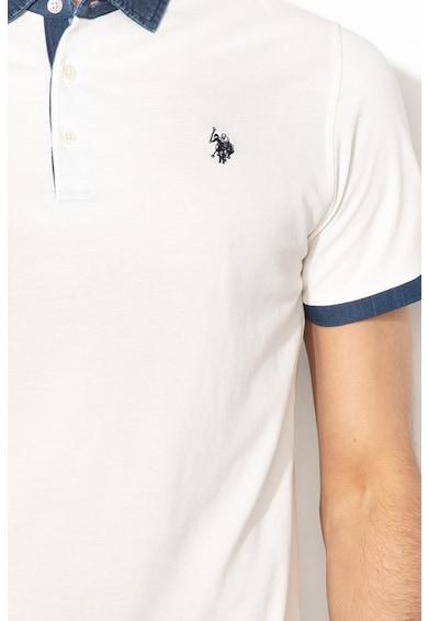 U.S. Polo Assn. Piké galléros póló férfi