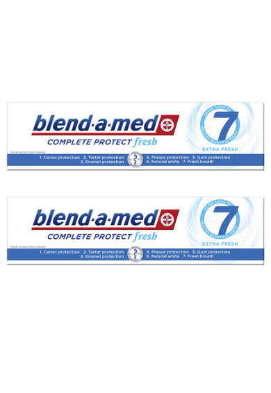 Blend-a-med Pachet promo  Complete Protect Fresh Extra, 2 x 100 ml Femei