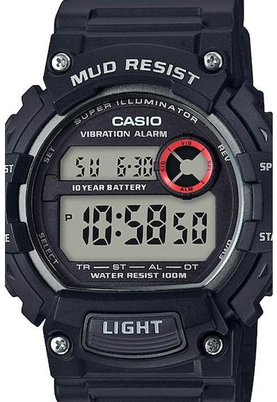 Casio Ceas digital cu functii multiple si bratara de cauciuc Barbati