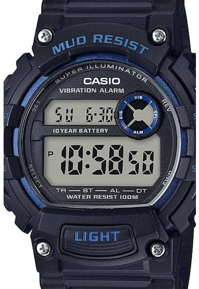 Casio Ceas digital cu functii multiple si bratara de plastic Barbati