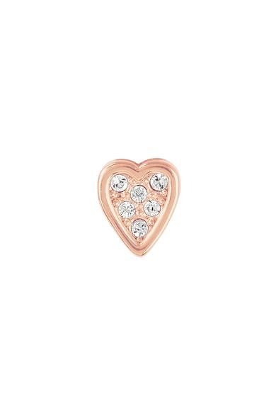 Adore by Swarovski® Group Szív alakú fülbevaló Swarovski® kristályokkal női