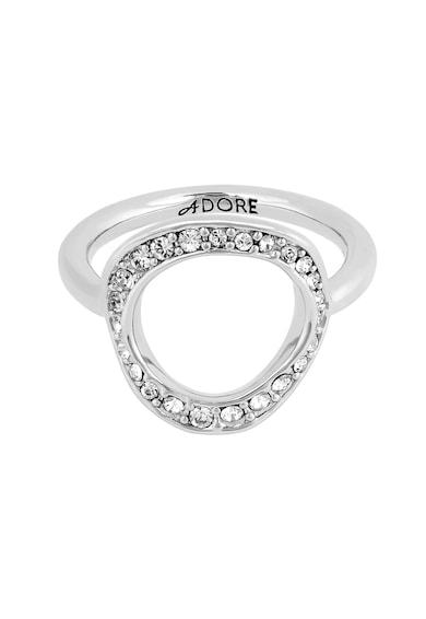 Adore Swarovski® kristályokkal díszített gyűrű női