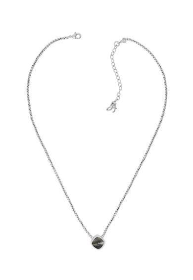 Adore Ródiumbevonatú nyaklánc Swarovski® medállal női