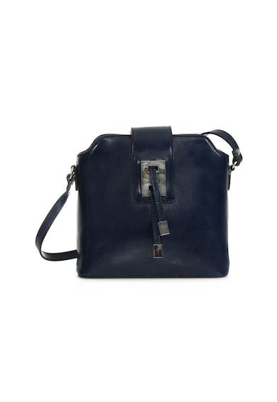 3b110f590e7e Marina bőr keresztpántos táska - DiAmanti (D1077-1-BLU-SCURO)