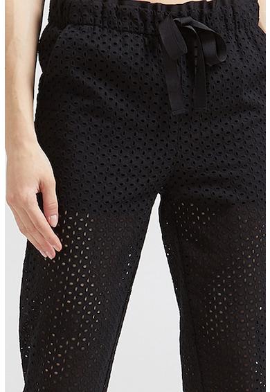 Motivi Sangallo csipke jogger nadrág megkötővel női