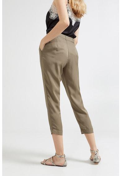 Motivi Pantaloni capri din lyocell Femei